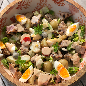Salad Nicoise for Two