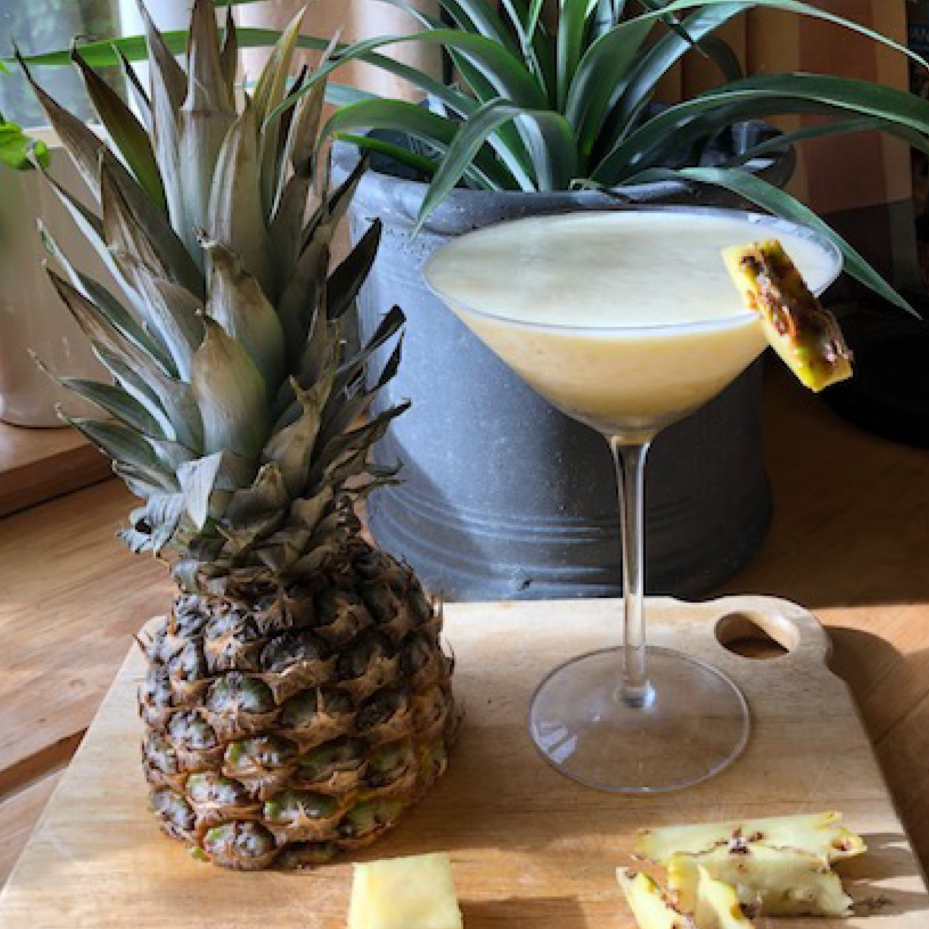 Pineapple and Vodka